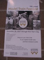 Washington State Model Train Festival Poster by TaionaFan369