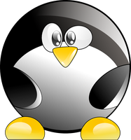 vectorial tux by aleandros