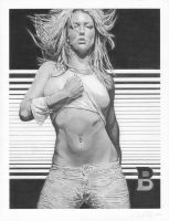 Britney Spears I by mhprice