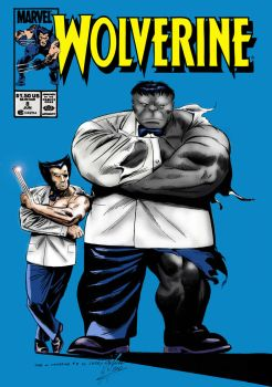 Wolverine #8 (Jerry DeCaire Cover Recreation) by garystrange
