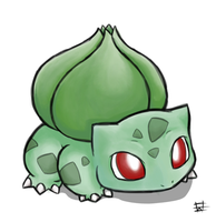 Bulbasaur by Hewryu