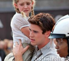Gale Comforts Prim At The Reaping by DistrictPotter13