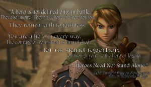 LOZ: Twilight Princess Novel Inspirational Quote by Stephonika-W-Kaye