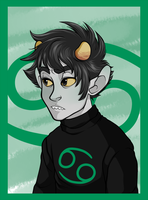 Jade Karkat by Zorn-Sable