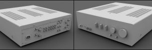 Yamaha A-S200SL Amplifier by Habatares