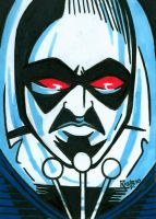 Sketchcard Mr. Freeze by RichBernatovech