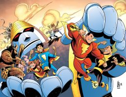 Shazam Cover Colors 20-21 by heck13r