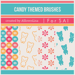 {SAI resources} Candy Themed Brushes by ASlovesLisa