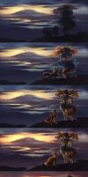 (Steps) Terra : Going Home by shideh