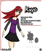 My OC Kayo by Budbud225