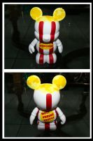 Popcorn Mickey Vinylmation by stephuhnoids