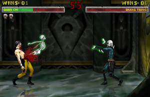 Quan Chi's Skeletal Rip by blacksaibot