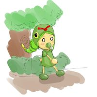 Caterpie by KeiXable