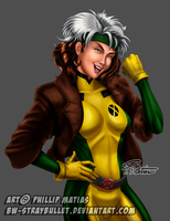X-Men's Rogue by BW-Straybullet