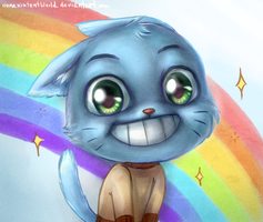 Gumball Waterson by NonexistentWorld