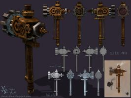 Steam Hammer by YBourykina