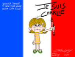 Je Suis Charlie - 20150123 by ryuuseipro