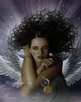 The Angel of Time by maiarcita