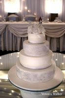4 tiers cake wedding cake by Verusca