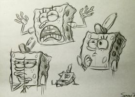 Spongebobs!! by brianpitt