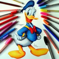 Donald Duck by samiahdagher