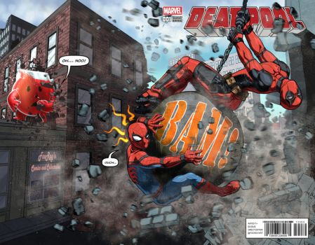 Deadpool: Wrecking ball by FooRay