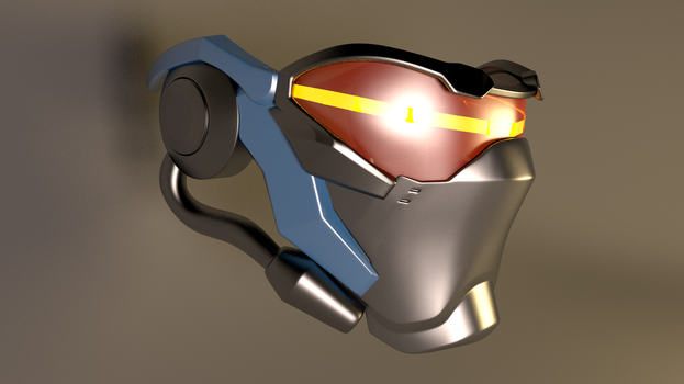 Soldier 76 Overwatch Mask by GexANIMATOR