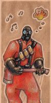 The Pyro Bookmark by LatifuLioness
