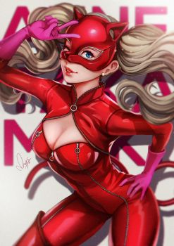 Ann Takamaki by magion02