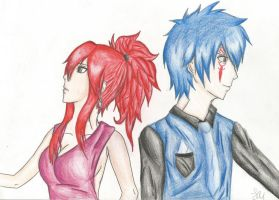 Erza and Gerard by LeRizzi