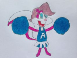 Cheerleader Fifi by nintendolover2010