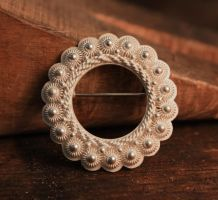 Filigree Brooch by stian-c