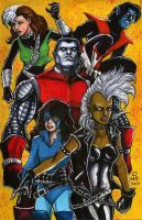 Uncanny X-Men '86 by olybear