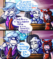 Thanks Dad by ShinyMeowstic