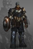 Captain America Reimagined by VisHuS702