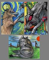 ACEO Canines by Ooupoutto