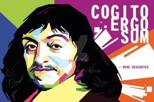 Rene Descartes in WPAP by duniaonme