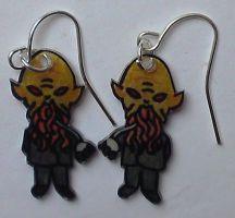 Kawaii Ood earrings by Lovelyruthie