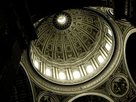 Dome of Basilica di San Pietro by creativehouse