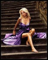Purple dress by johnatta