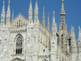Milano Cathedral I by Ivette-Stock