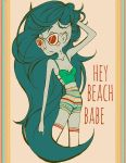 hey there beach babe by brandipandii