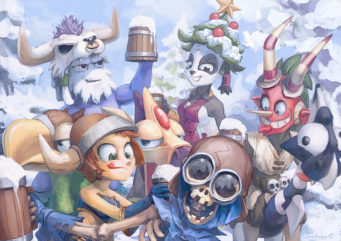 Dofus Team by Cannibalus