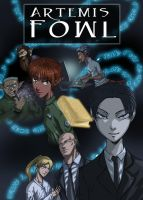 Artemis Fowl, book 1 cover by Axxonu