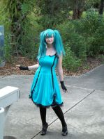 Vocaloid- lets go for a walk by CosplayQueendom