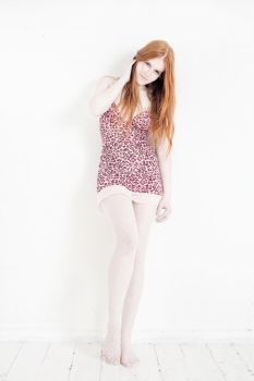 Sweet pink ginger by LivaSaule