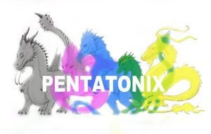 Pentatonix Album Cover Dragon-Style by vkdragonfire