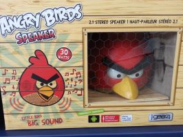 angry birds! speaker. by palalapunch