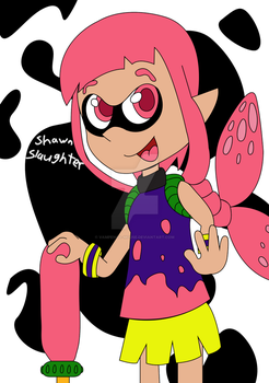 Splatoon Girl - Jetink by Vampenga-Mouse