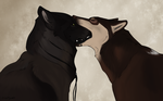 First Kiss by swiftywolf